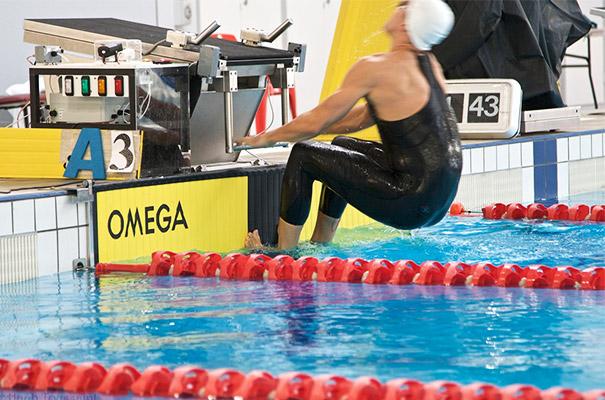 Amsterdam Institute of Sport Science - foto zwemmer