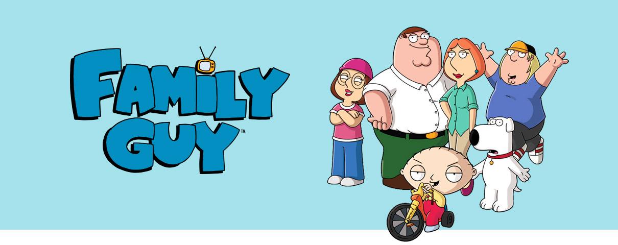 Family Guy - header afbeelding