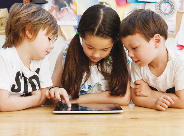 Reizen in de Tijd - doelgroep op iPad